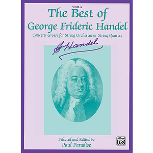 Best Of Handel Viola