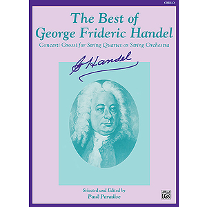 Best Of Handel Cello