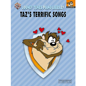 Taz's Terrific Songs Looney Tunes Piano Library