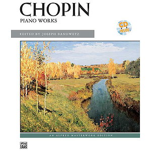 Frederic Chopin Piano Works With CD Performing Artist Series