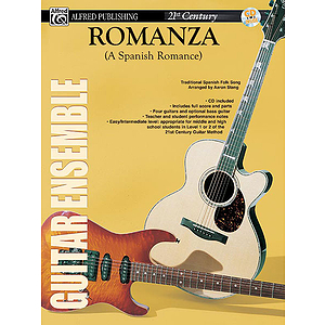 21st Century Guitar Ensemble Romanza With CD