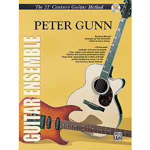 21st Century Guitar Ensemble Peter Gunn With CD