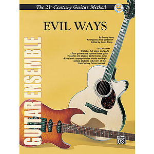 21st Century Guitar Ensemble Evil Ways With CD