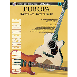 21st Century Guitar Ensemble Europa With CD