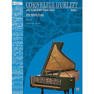 Cornelius Gurlitt Late Elementary Piano Solos Book 1 Little Melodic Etudes Opus 187 Nos. 1-54