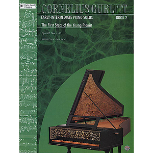 Cornelius Gurlitt Early Intermediate Piano Solos Book 2 The First Steps Of The Young Pianist Opus 82 Nos. 1-65