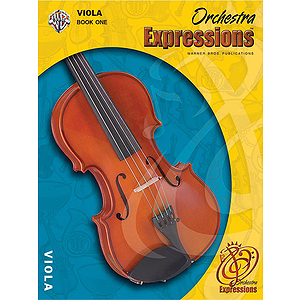 Orchestra Expressions Viola Book 1