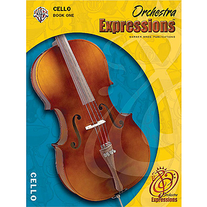 Orchestra Expressions Cello Book 1