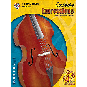 Orchestra Expressions String Bass Book 1