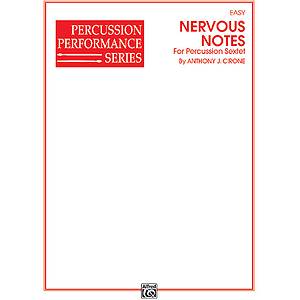 Nervous Notes Percussion Sextet Performance Series