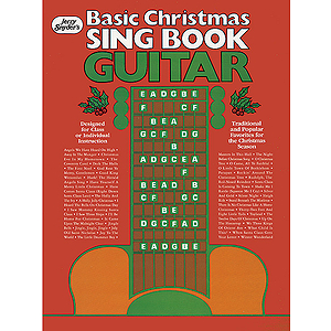 Jerry Snyder Basic Christmas Sing Book Guitar