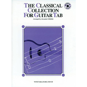 Classical Collelction For Guitar Tab BK/CD