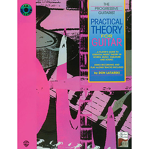 Practical Theory For Guitar The Progressive Guitarist BK/CD