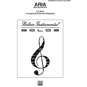 Aria B-Flat Cornet (Trumpet) Solos (With Piano Accompaniment