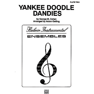 Yankee Doodle Dandies Flute Trios With Full Score