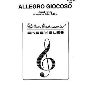Allegro Glocoso Flute Trios With Full Score