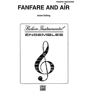 Fanfare And Air Cornet Trumpet Trios With Full Score