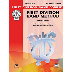 First Division Band Method Part 1 B-Falt Bass Clarinet