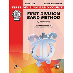 First Division Band Method Part 1 E-Flat Alto Saxophone