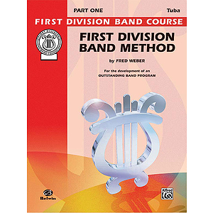 First Division Band Method Part 1 Bass-Tuba
