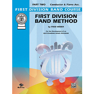 First Division Band Method Part Two Conductor