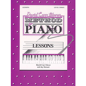 David Carr Glover Method For Piano Lessons Level 3
