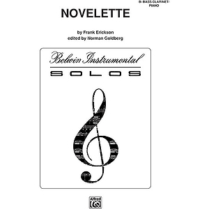 Novelette B-Flat Bass Clarinet Solos (With Piano Accompaniment)