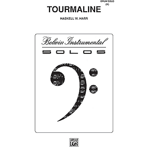 Tourmaline Drum Solo (El03901)