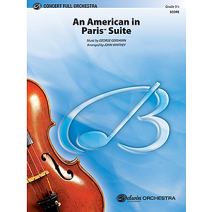 An American In Paris Suite  Conductor's Score