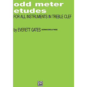Odd Meter Etudes For All C Instruments Everett Gates