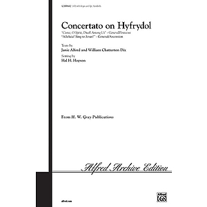 Concertato On Hyfrydol Satb Arr. Hopson