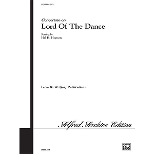 Lord Of The Dance Satb And Congretation Hopson