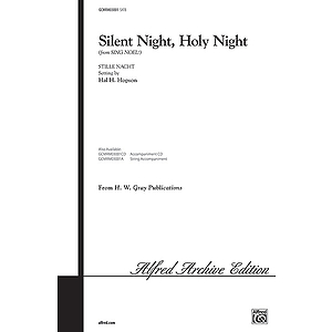 Silent Night Holy Night Satb Hopson