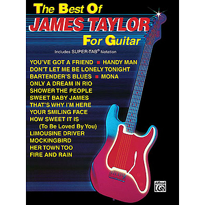James Taylor - Best Of James Taylor For Guitar