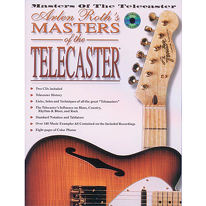 Masters Of The Telecaster CD Included