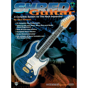 Shred Guitar A Complete System For The Rock Improviser BK/CD