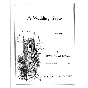 Wedding Prayer Med-High