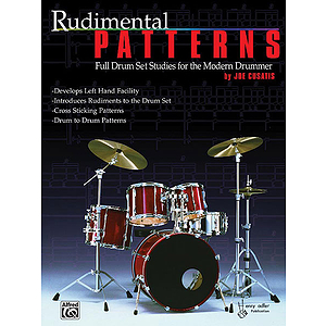 Rudimental Patterns Full Drum Set Studies For The Modern Drummer