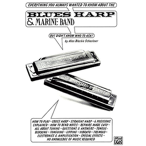 Blues Harp And Marine Band Harmonica
