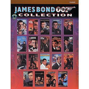 James Bond 007 Collection Clarinet Book/CD