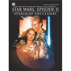 Star Wars Episode II Attack Of The Clones Piano Accompaiment Book Only