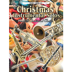 Christmas Instrumental Solos Carols And Traditional For Flute Book And CD