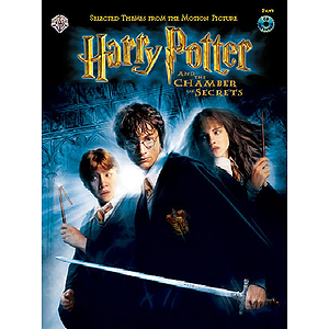 Harry Potter & The Chamber Of Secrets Flute Book And CD
