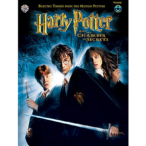 Harry Potter & The Chamber Of Secrets Trumpet Book And CD