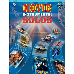 Movie Instrumental Solos Clarinet Book And CD