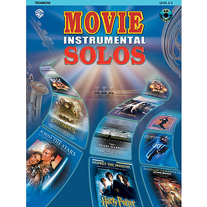 Movie Instrumental Solos Trombone Book And CD