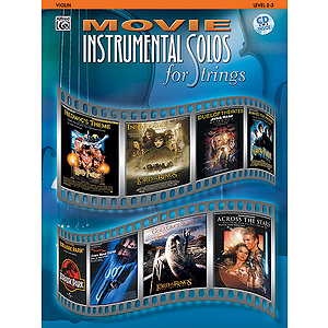 Movie Instrumental Solos For Strings Violin Book And CD