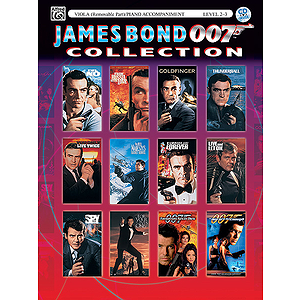 James Bond Collection For Strings Viola Book And CD