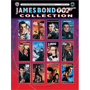 James Bond Collection For Strings Cello Book And CD