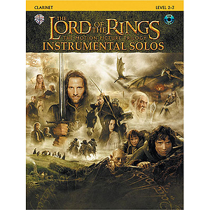 Lord Of The Rings Instrumental Solos Clarinet